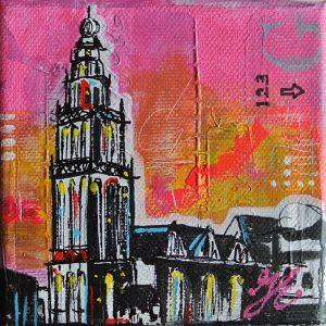 Kunstkaart Martini toren 2