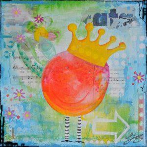 kunstkaart little king