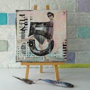 schilderij 20x20cm 3