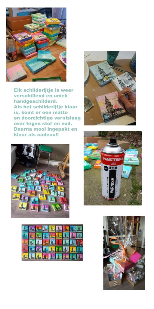 relatiegeschenk mini Martinitorentjes Groningen Janet Edens