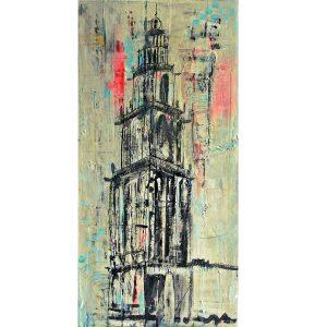 Martinitoren Groningen schilderij ook in opdracht