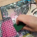kinderfeestje schilderij maken mixed media schilderen omgeving Groningen