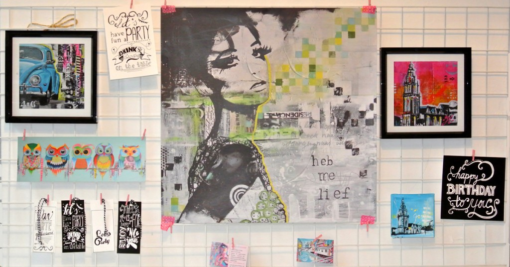 tips hoe omgaan met teveel ideeën kunstenaar creatief schilderen